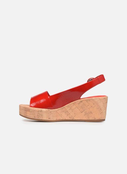 Sandales et nu-pieds HÖGL Seaside Rouge vue face