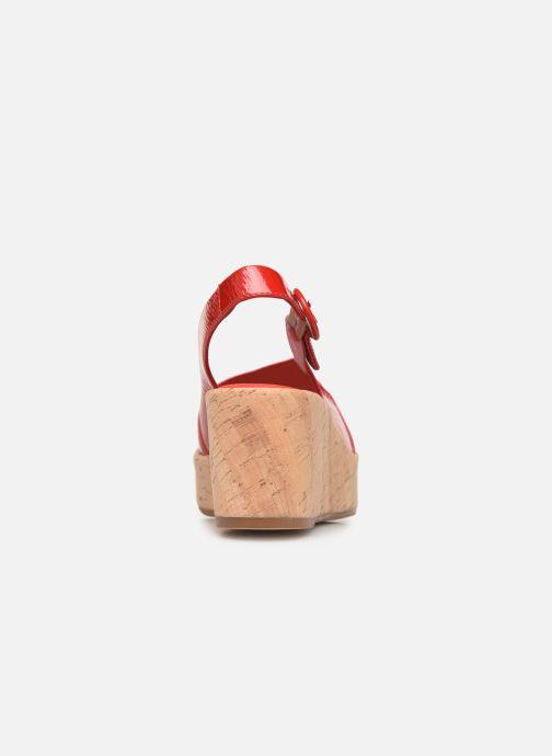 Sandales et nu-pieds HÖGL Seaside Rouge vue droite