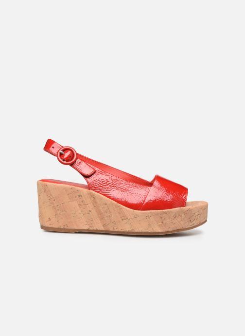 Sandales et nu-pieds HÖGL Seaside Rouge vue derrière