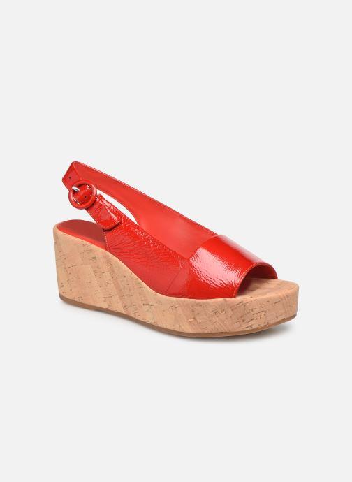 Sandales et nu-pieds HÖGL Seaside Rouge vue détail/paire