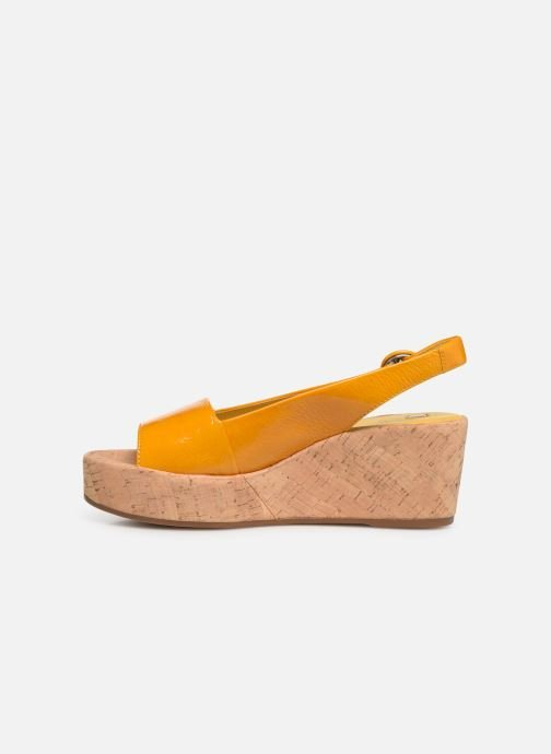 Sandales et nu-pieds HÖGL Seaside Jaune vue face