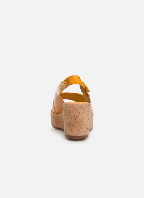 Sandales et nu-pieds HÖGL Seaside Jaune vue droite
