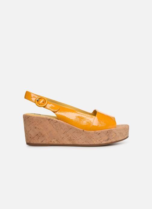 Sandales et nu-pieds HÖGL Seaside Jaune vue derrière