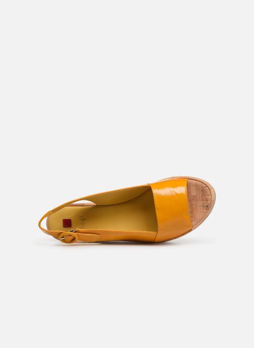 Sandales et nu-pieds HÖGL Seaside Jaune vue gauche