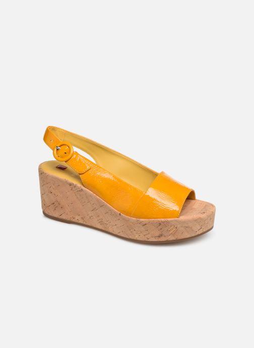 Sandales et nu-pieds HÖGL Seaside Jaune vue détail/paire