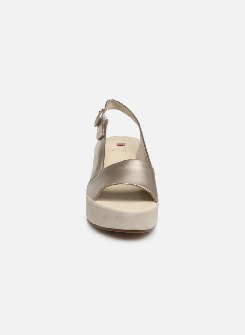 Sandales et nu-pieds HÖGL Seaside Argent vue portées chaussures