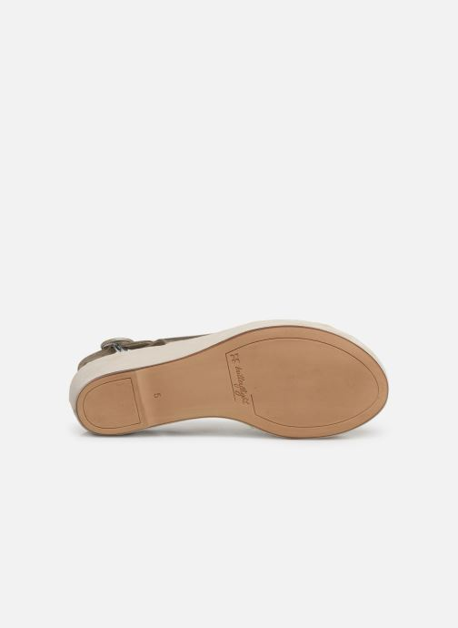 Sandales et nu-pieds HÖGL Seaside Argent vue haut