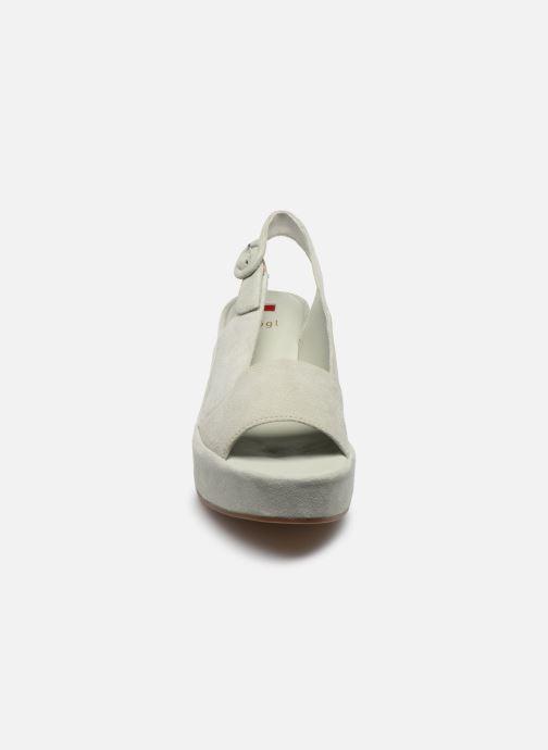 Sandales et nu-pieds HÖGL Seaside Vert vue portées chaussures