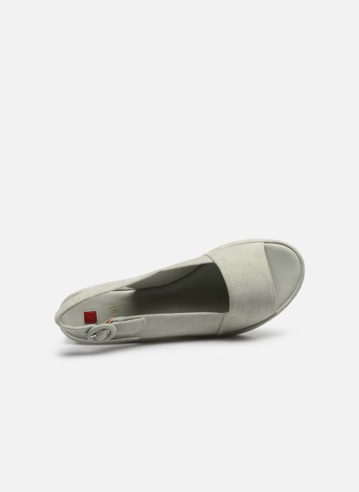 Sandales et nu-pieds HÖGL Seaside Vert vue gauche