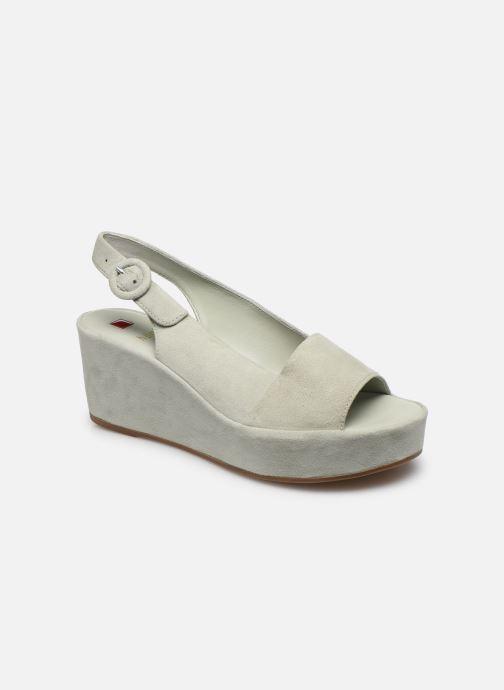 Sandales et nu-pieds HÖGL Seaside Vert vue détail/paire