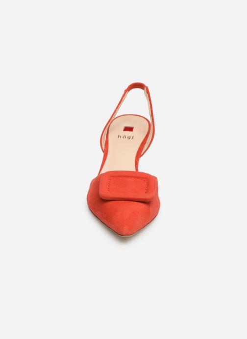 Escarpins HÖGL Mia Rouge vue portées chaussures