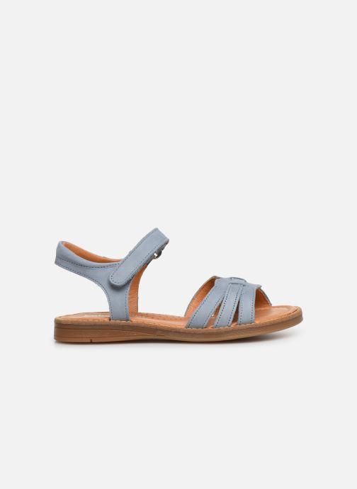 Sandals Babybotte Krikri Blue back view