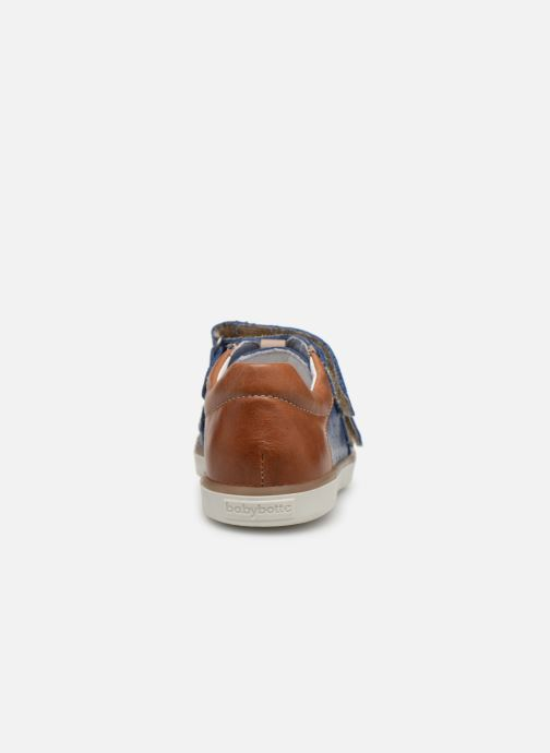 Trainers Babybotte Amac Blue view from the right