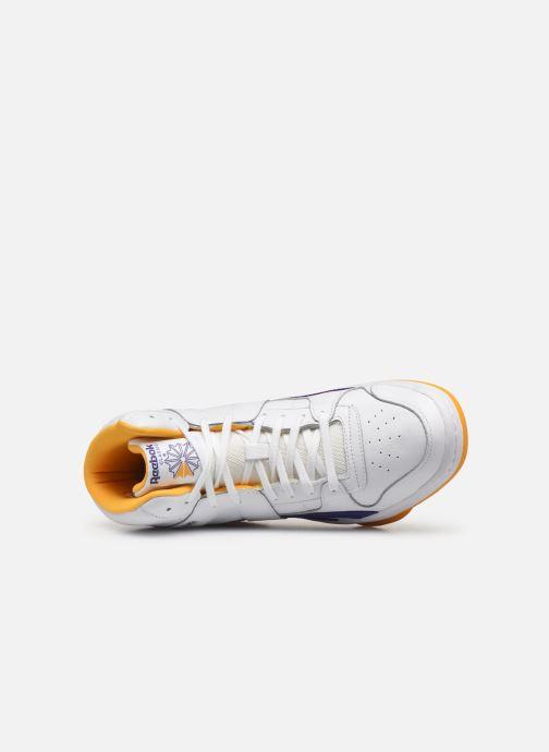 Baskets Reebok Bb 5600  Mu Blanc vue gauche