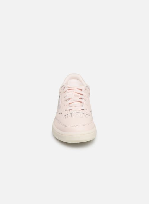 Baskets Reebok Club C 85 Rose vue portées chaussures
