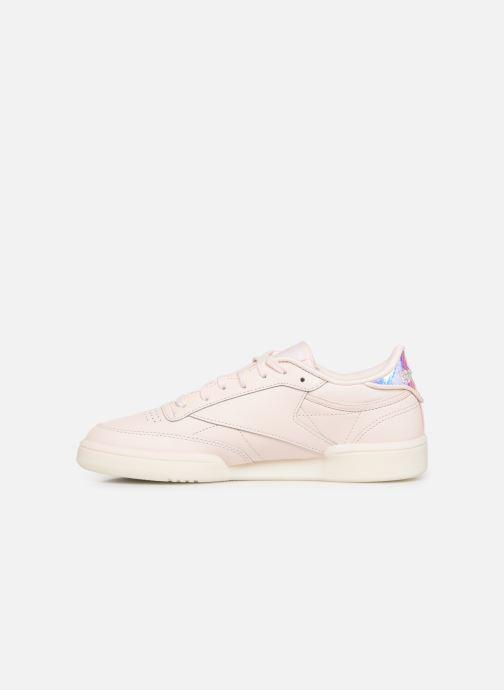 Sneaker Reebok Club C 85 rosa ansicht von vorne