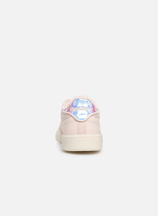 Sneaker Reebok Club C 85 rosa ansicht von rechts