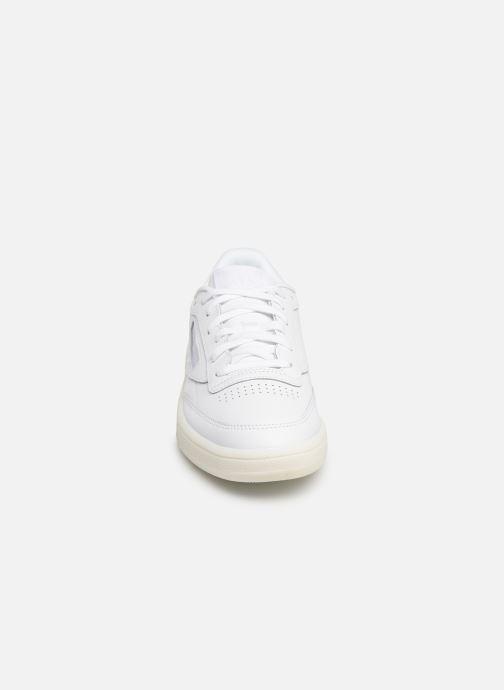 Sneaker Reebok Classic Leather Ub C 85 weiß schuhe getragen