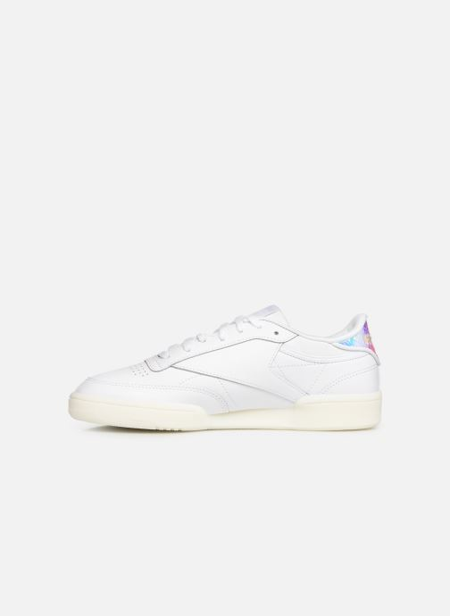 Sneakers Reebok Club C 85 Wit voorkant