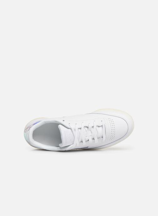 Sneaker Reebok Classic Leather Ub C 85 weiß ansicht von links