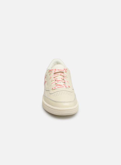 Baskets chalk Ub bright Classic Leather Reebok White Rose 85 C ALqjR354