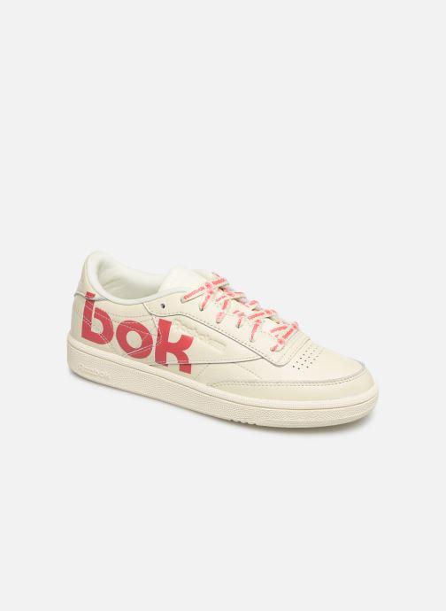 Baskets Reebok Club C 85 Blanc vue détail/paire