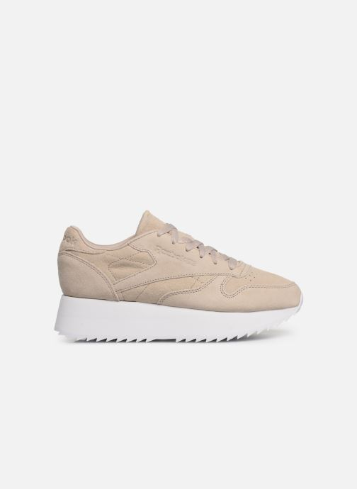 Baskets Reebok Classic Leather  Double Beige vue derrière