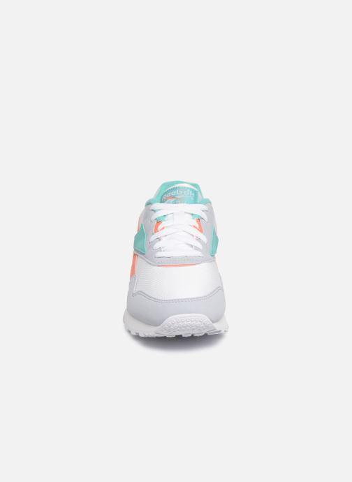 Baskets Reebok Rapide Syn Blanc vue portées chaussures