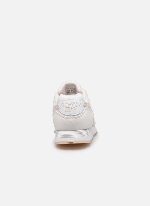 Sneaker Reebok Rapide Syn weiß ansicht von rechts