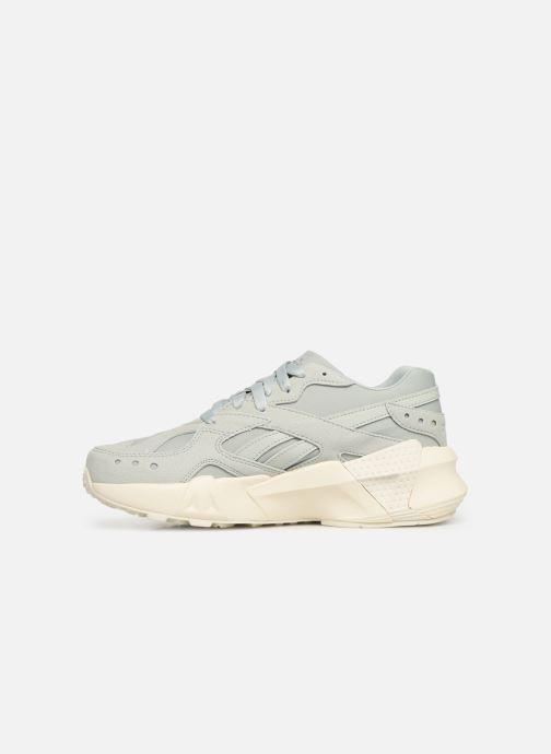 Sneakers Reebok Aztrek Double 93 Blauw voorkant