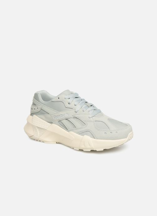 Sneakers Reebok Aztrek Double 93 Blauw detail