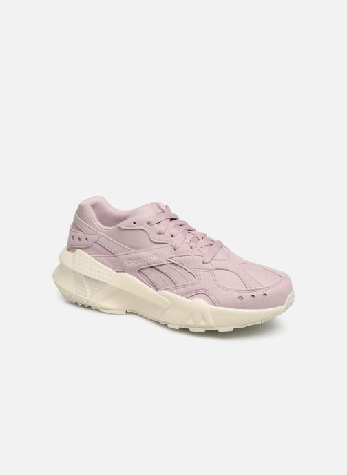 Sneakers Reebok Aztrek Double 93 Roze detail