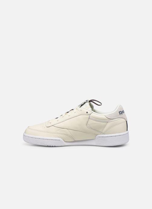 Sneaker Reebok Club C 85 Mu M weiß ansicht von vorne