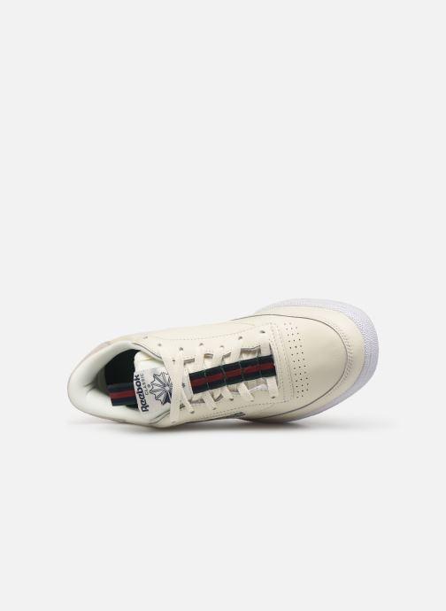 Sneaker Reebok Club C 85 Mu M weiß ansicht von links