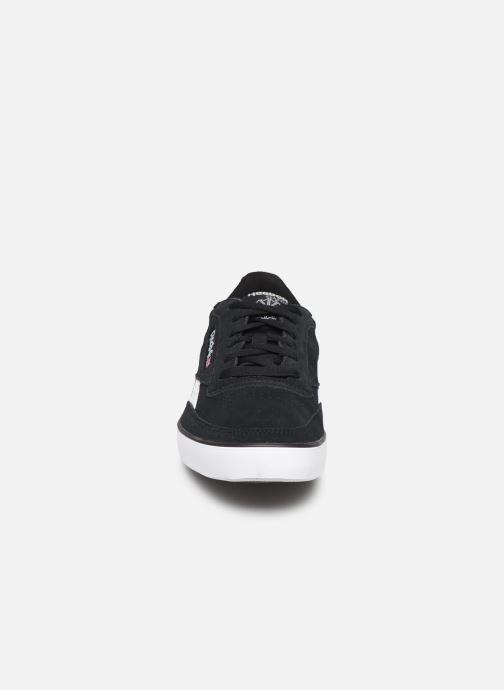 Baskets Reebok Revenge  Plus Mu Noir vue portées chaussures