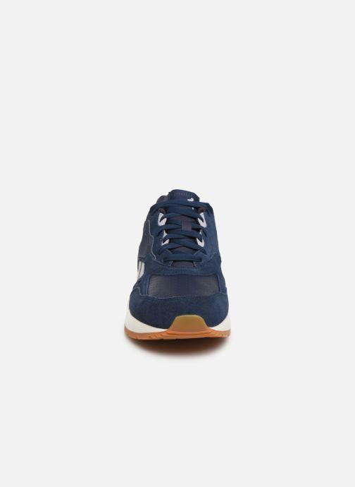 Baskets Reebok Bolton Essential Mu Bleu vue portées chaussures