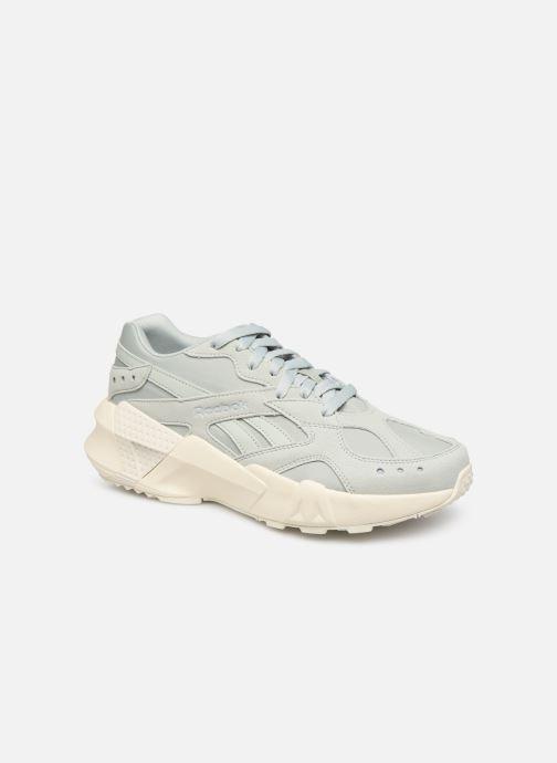 Sneakers Reebok Aztrek Double 93 W Blauw detail