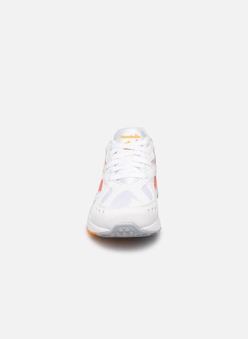 Baskets Reebok Aztrek W Blanc vue portées chaussures