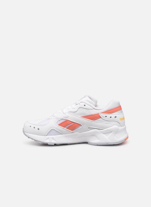 Sneakers Reebok Aztrek W Bianco immagine frontale