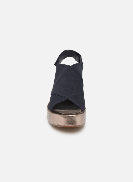 Sandales et nu-pieds HÖGL Portofino Bleu vue portées chaussures