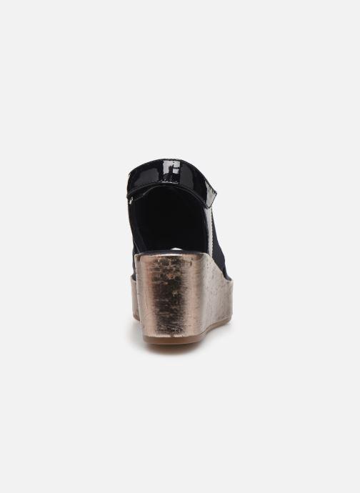 Sandales et nu-pieds HÖGL Portofino Bleu vue droite