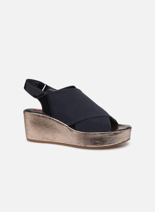 Sandales et nu-pieds HÖGL Portofino Bleu vue derrière