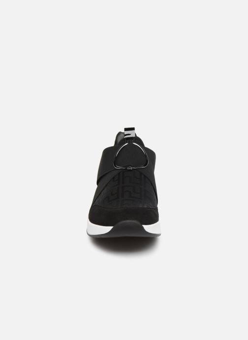 Baskets HÖGL Funny Stretch  Gore-Tex Noir vue portées chaussures