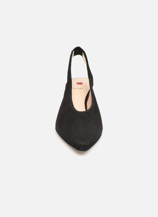 Escarpins HÖGL Urbana Noir vue portées chaussures