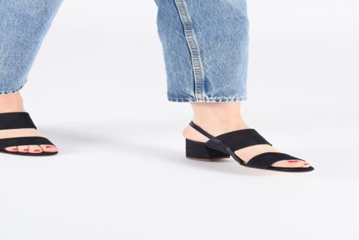 Sandales et nu-pieds HÖGL Painty Rouge vue bas / vue portée sac