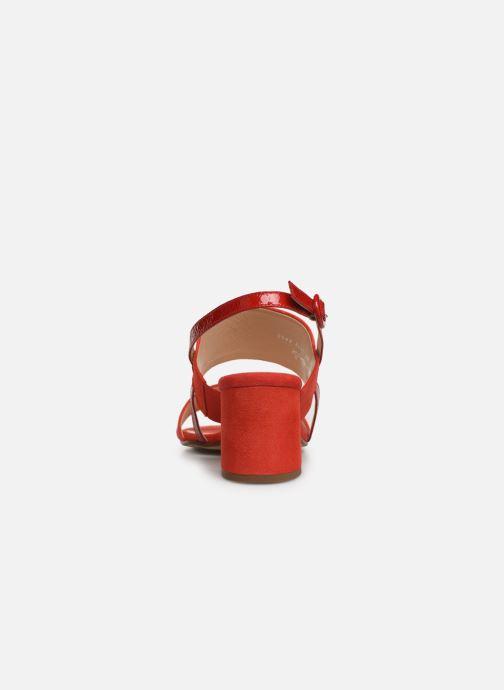 Sandales et nu-pieds HÖGL Painty Rouge vue droite