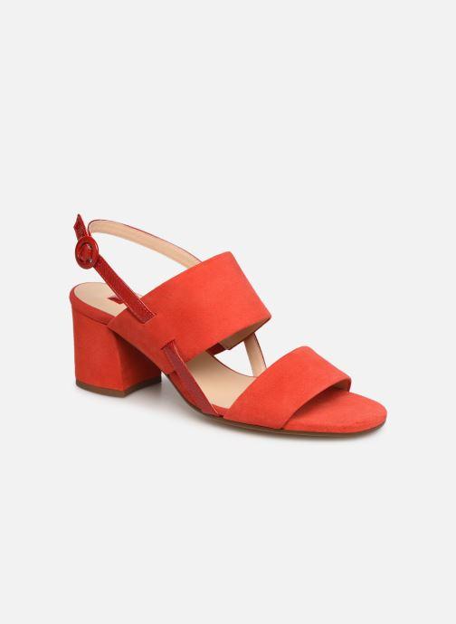 Sandales et nu-pieds HÖGL Painty Rouge vue détail/paire