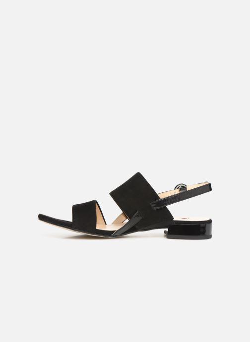 Sandales et nu-pieds HÖGL Ribby Noir vue face