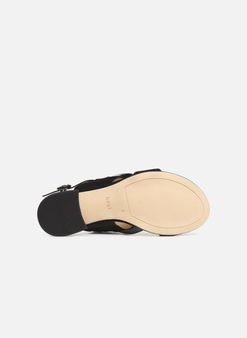 Sandales et nu-pieds HÖGL Ribby Noir vue haut