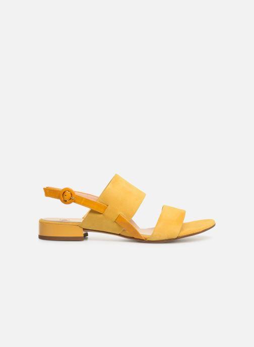 Sandales et nu-pieds HÖGL Ribby Jaune vue derrière